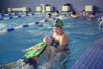 Сhildren from boarding schools and orphanages in Amaty are taught triathlon for free